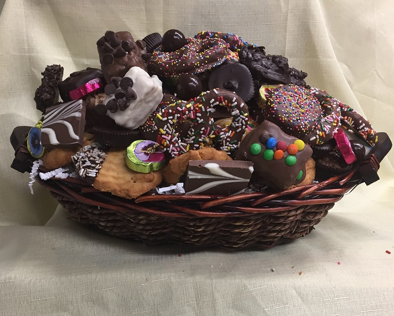 Chocolate Addict Gift Basket