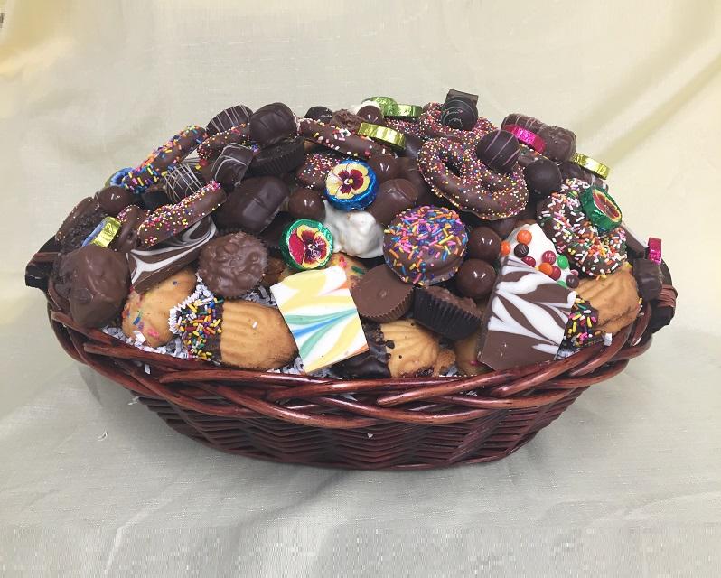 Chocolate Maniac Gift Basket