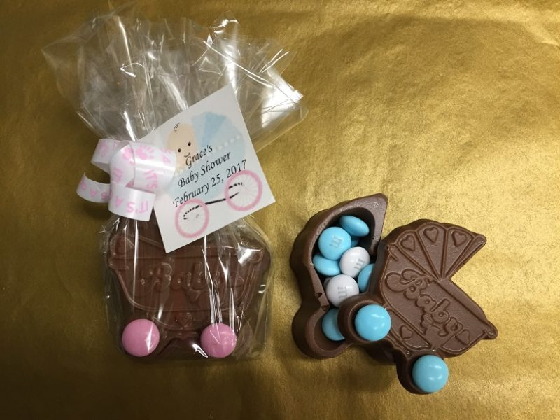 Chocolate Baby Carriage