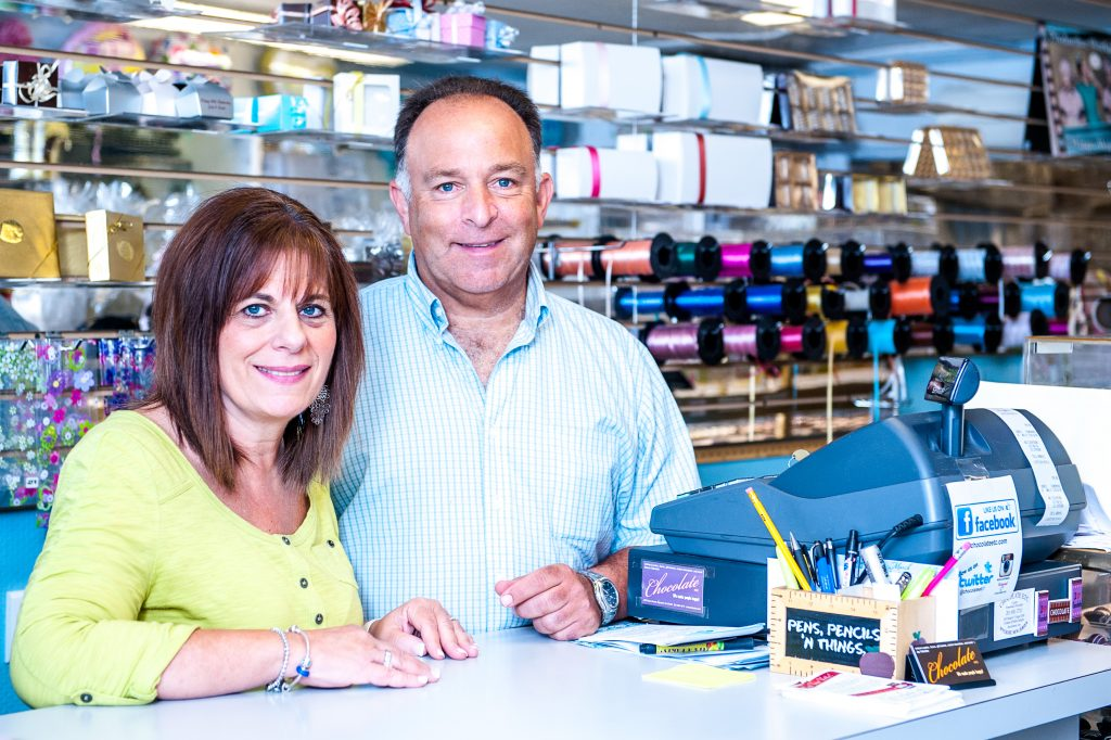We're Marcia and Jay Vidockler. Chocolate Etc. has been our family owned business for over 20 years located here in Wyckoff, NJ. If you're nearby come in and say hello! If you're out of town and want the best chocolate for yourself or as a gift, order online here securely or give us a call.